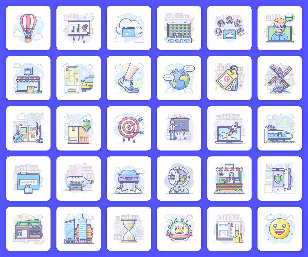 Scenarium icons