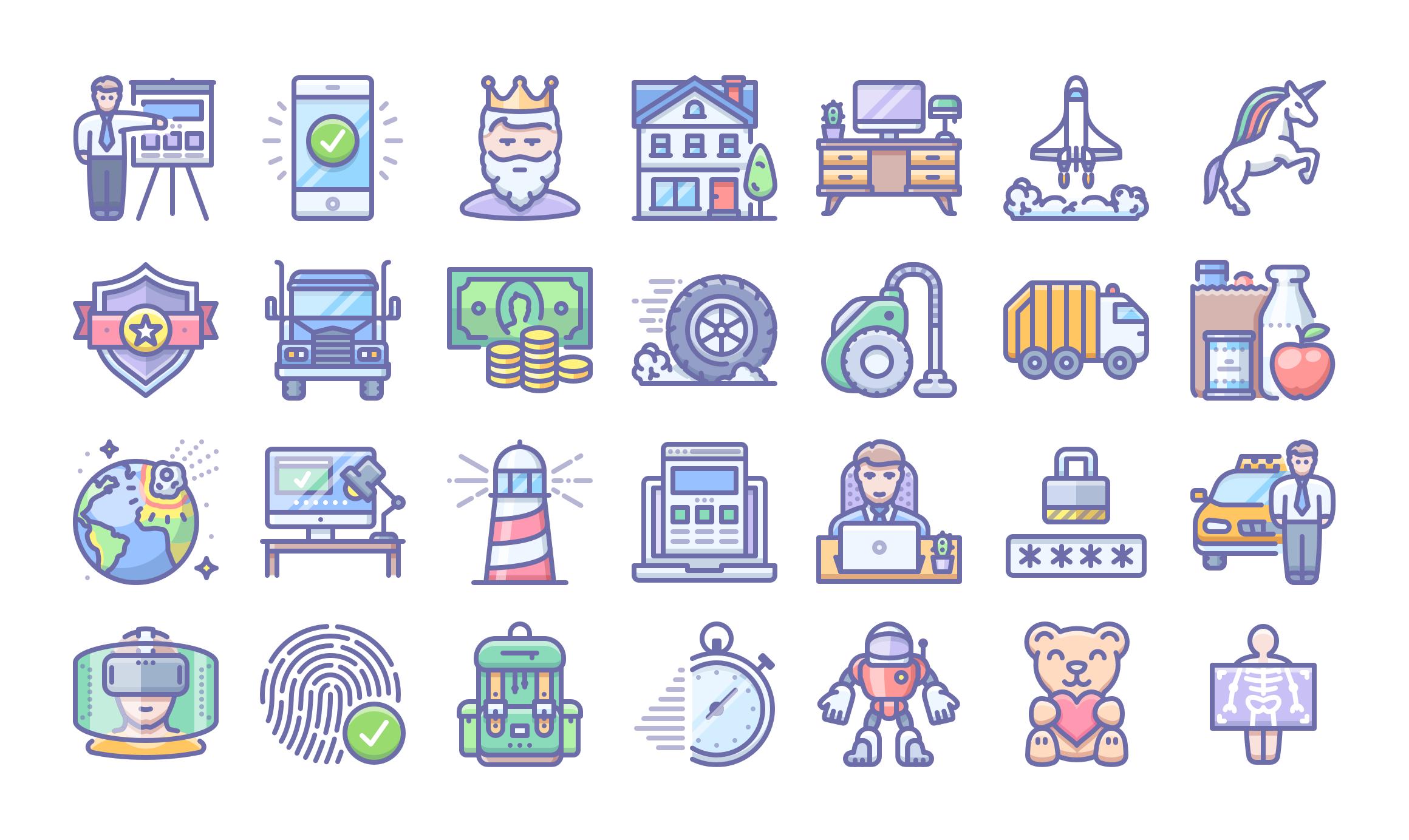 Unigrid icons